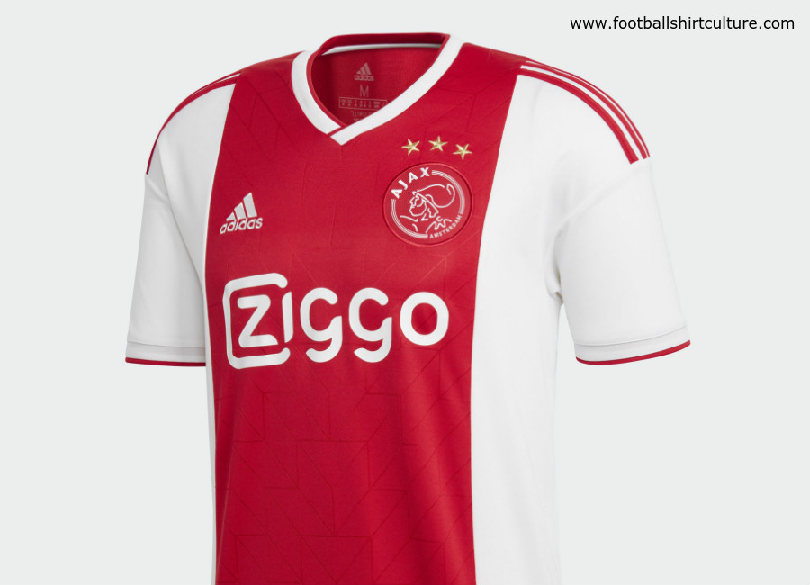 Ajax 2018/19 Adidas Home Kit