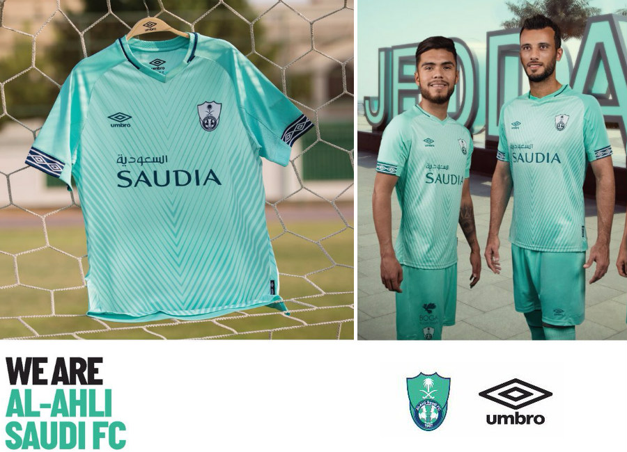 Al Ahli 2018-19 Umbro Away Kit