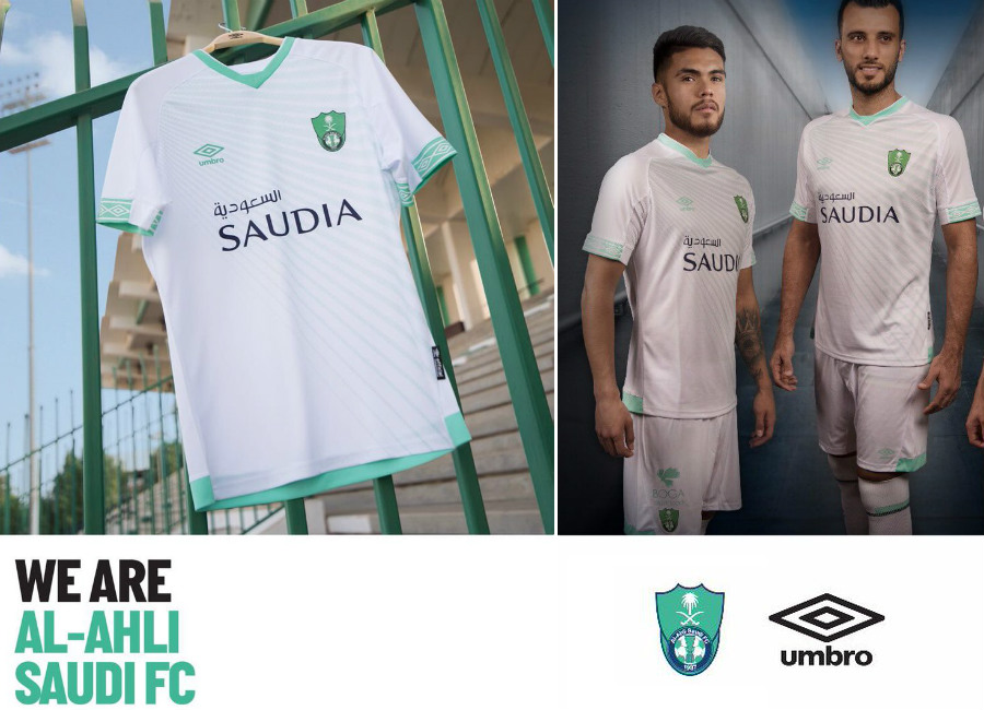 Al Ahli 2018-19 Umbro Home Kit