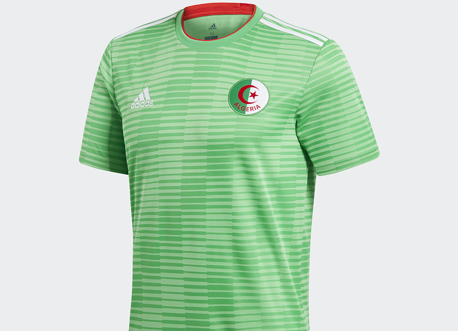 Algeria 2018 Adidas Away Kit