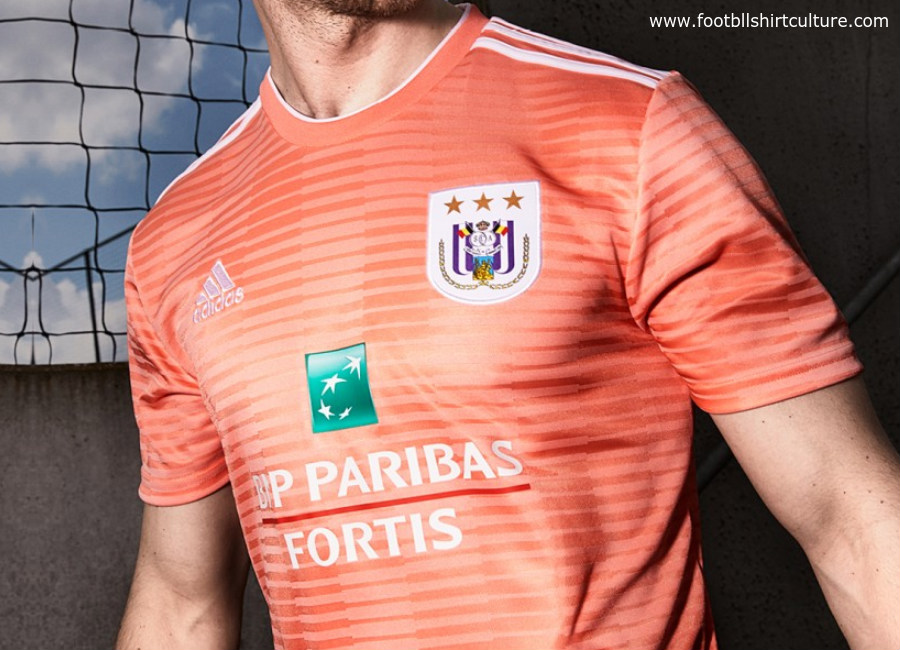 Anderlecht 2018-19 Adidas Away Kit