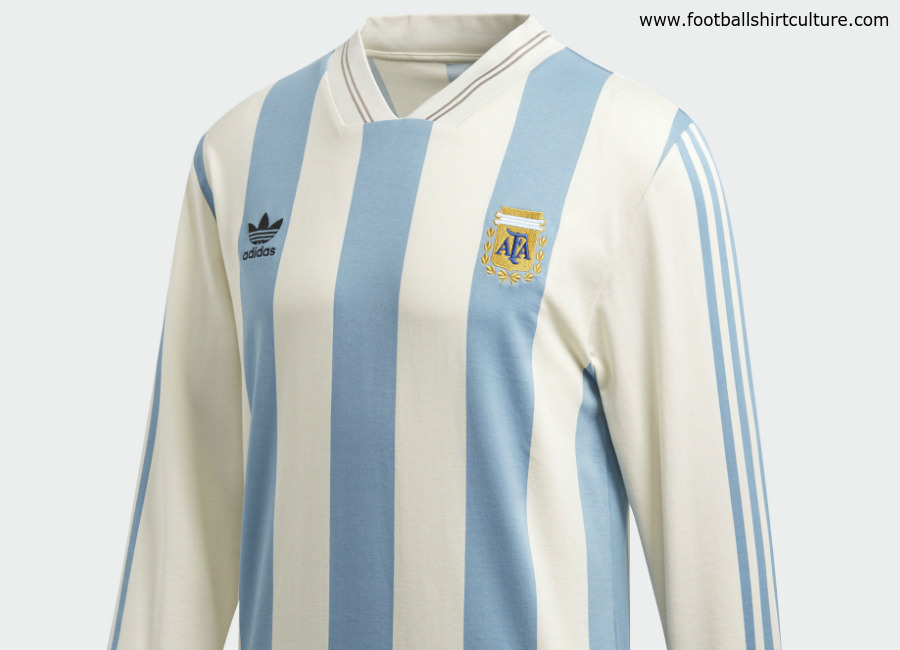 Argentina 1987 Adidas Originals Home Replica Jersey