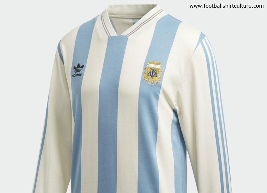 fcb7456bc82 Argentina 1993 Adidas Originals Home Replica Jersey