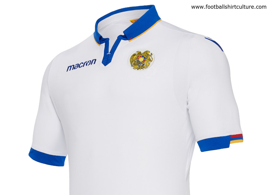 Armenia 2018-19 Macron Away Kit