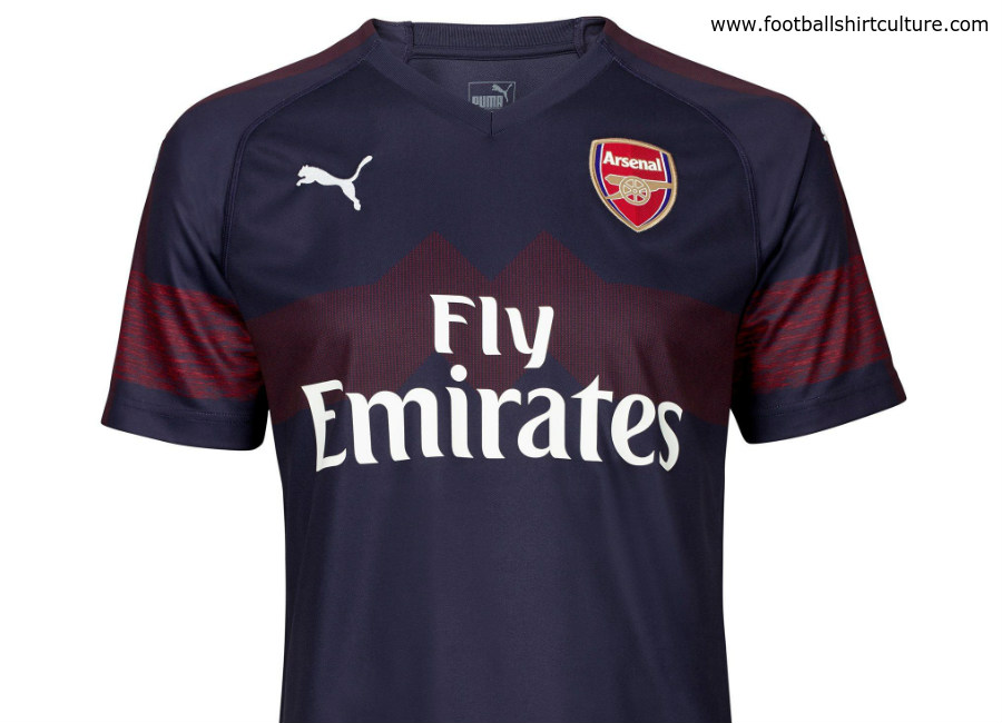 Arsenal 2018-19 Puma Away Kit  94a806792
