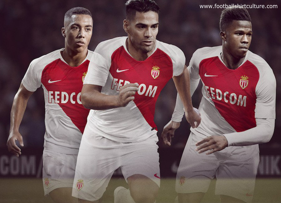 ed83ca13ad1 AS Monaco 2018-19 Nike Home Kit | 18/19 Kits | Football shirt blog