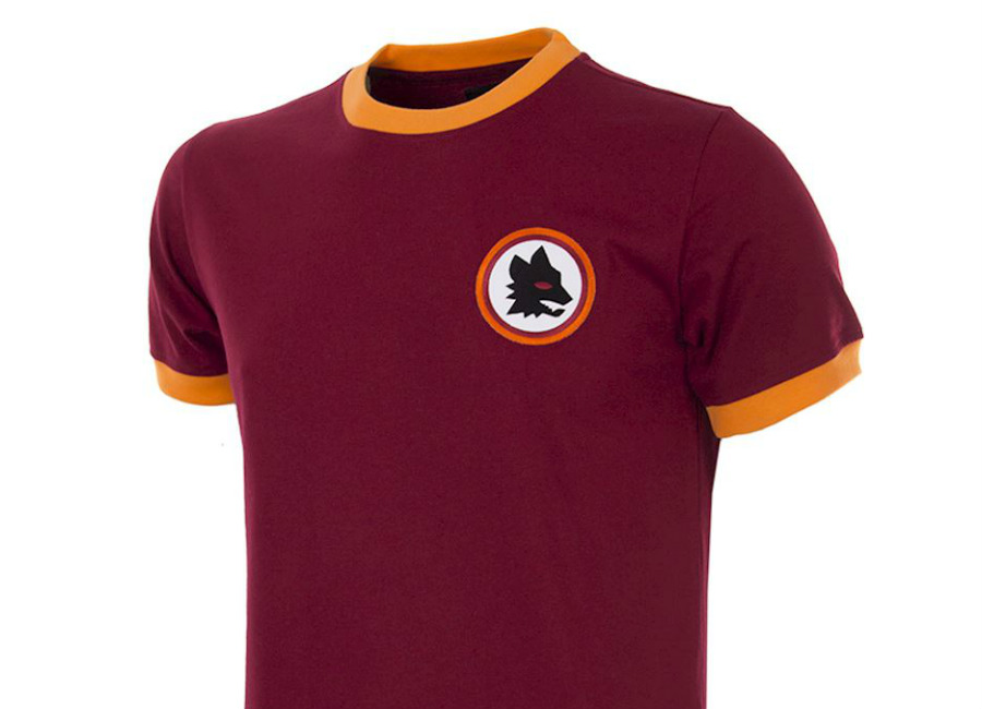 AS Roma 1978-79 COPA Retro Football Shirt