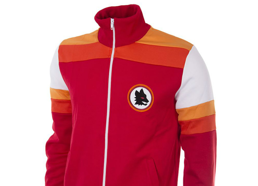 AS Roma 1979-80 Copa Retro Football Jacket