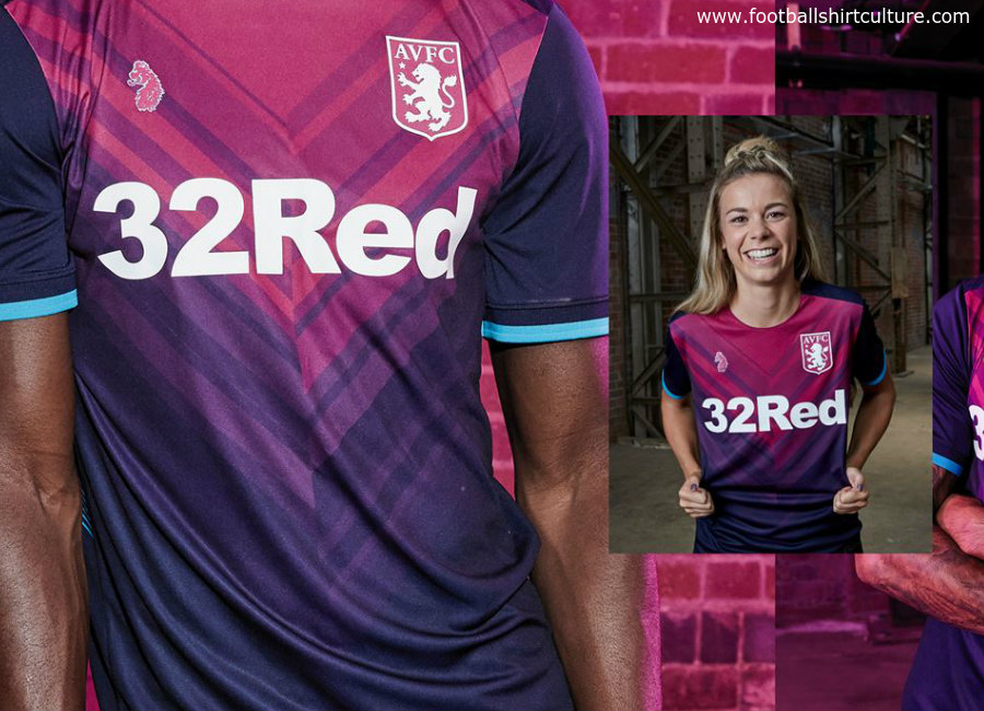 ea33001a4bf Aston Villa 2018-19 Luke 1977 Third Kit | 18/19 Kits | Football ...