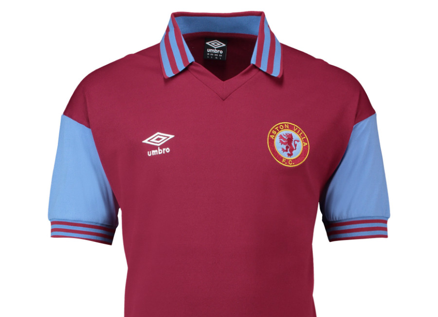 Aston Villa 1980 Umbro Home Retro Shirt