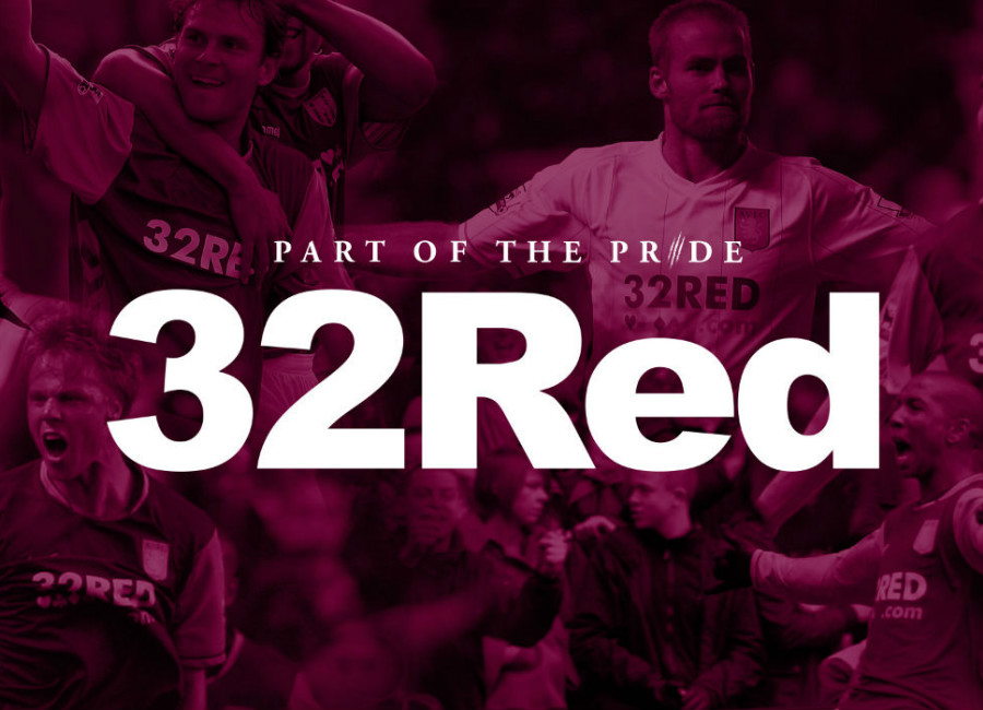 Aston Villa announce 32Red Shirt Sponsor Deal