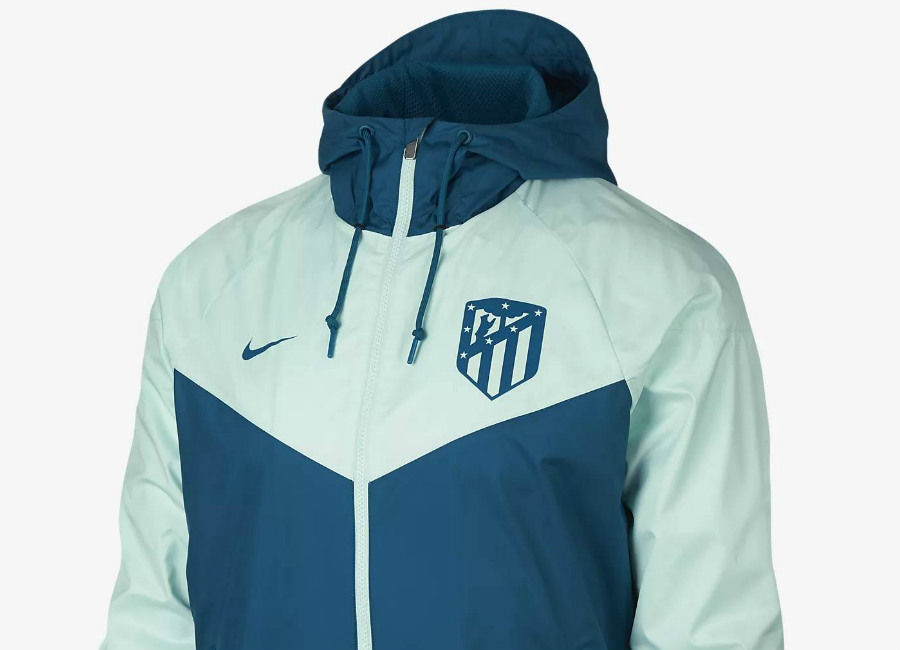 Atlético de Madrid 2018-19 Nike Windrunner - Green Abyss / Igloo / Green Abyss