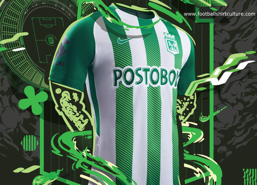 aa8c85591 Atlético Nacional 2018 Nike Home Kit   17/18 Kits   Football shirt blog