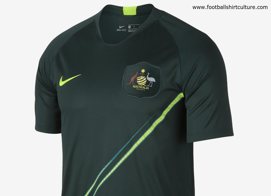 Australia 2018 World Cup Nike Away Kit