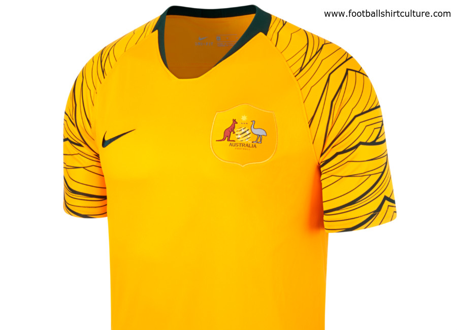 Australia 2018 World Cup Nike Home Kit