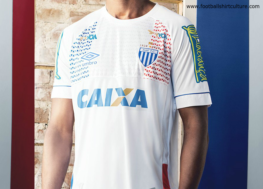 Avaí 2018 Lion Bleu Umbro Nations Shirt