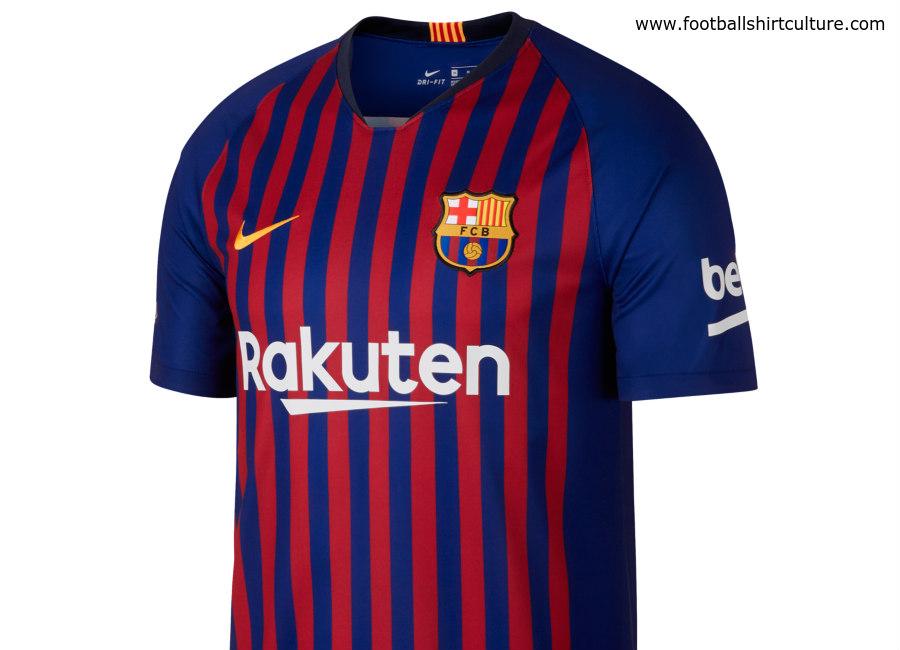 Barcelona 2018-19 Nike Home Kit