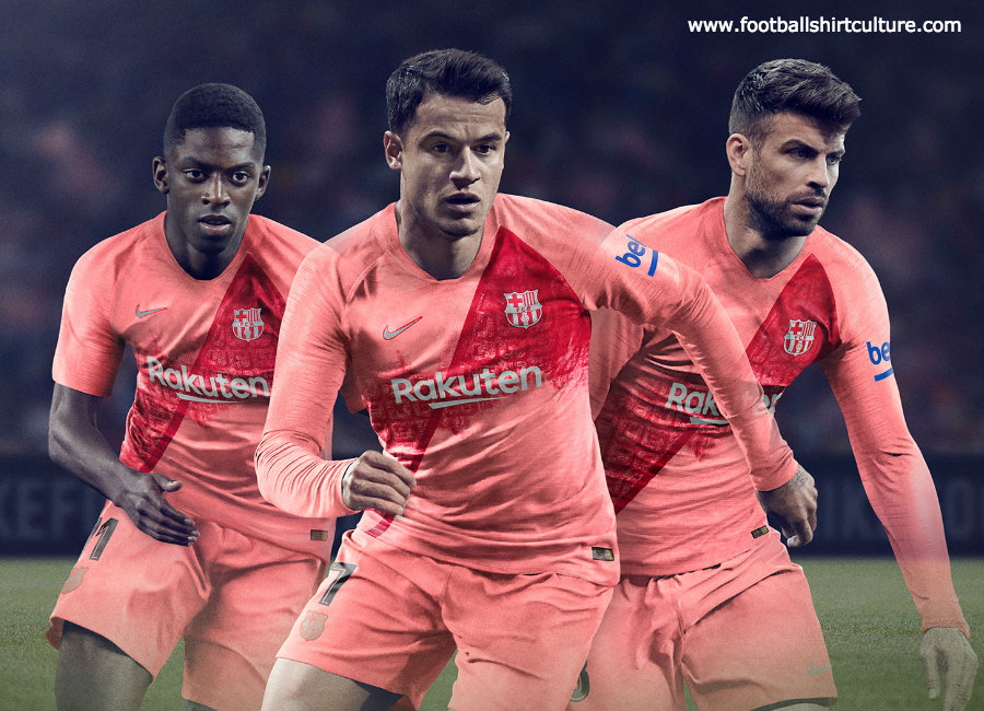 Barcelona 2018-19 Nike Third Kit