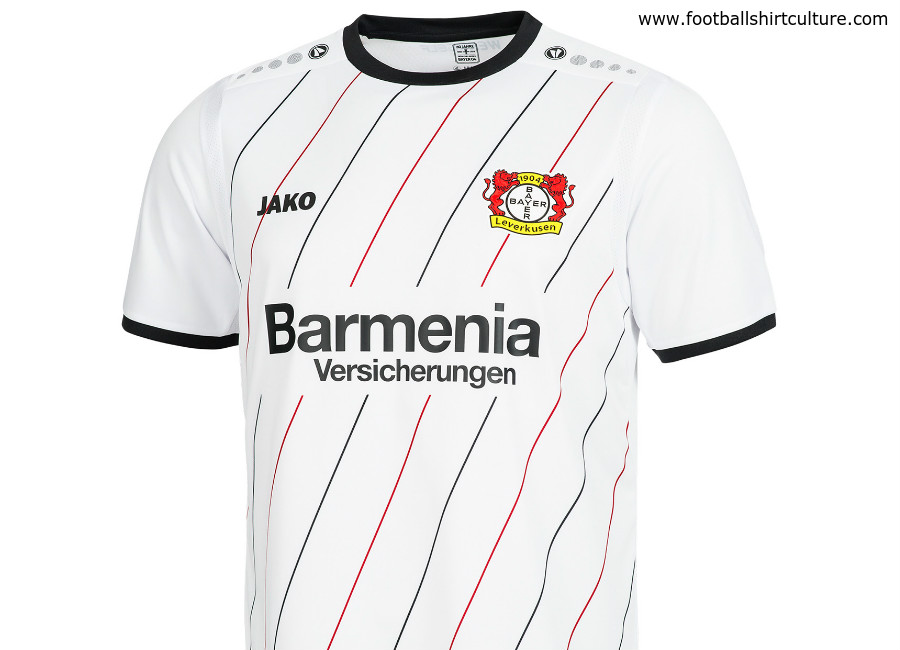 Bayer 04 Leverkusen 1819 Jako Away Kit 1819 Kits Football