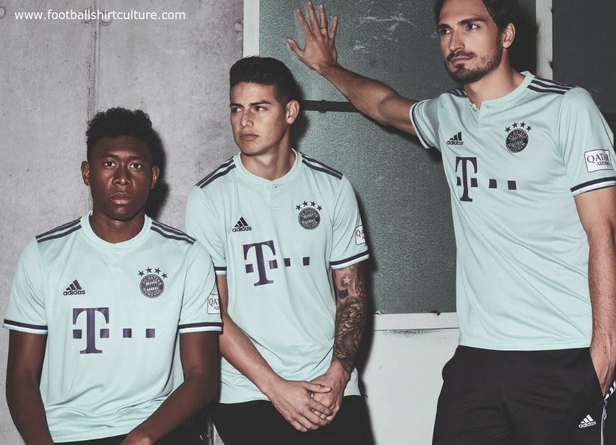 Bayern Munich 2018-19 Adidas Away Kit