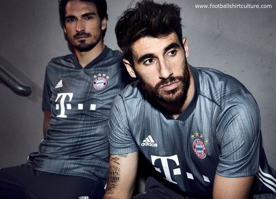 85fa73334 Bayern Munich 2018-19 Adidas Third Kit