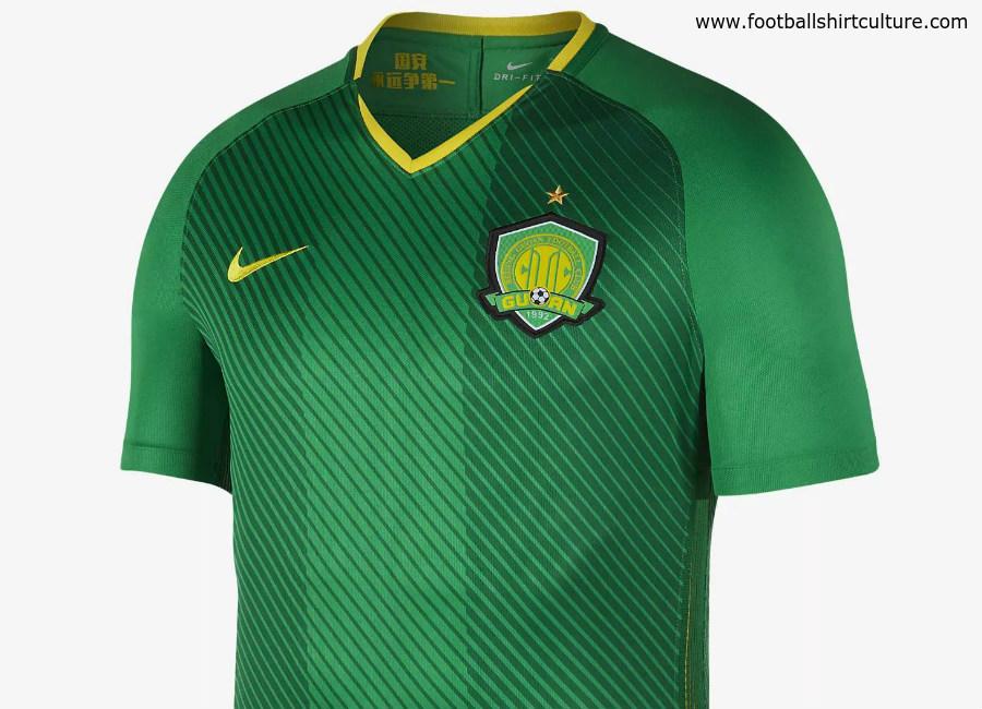 780fe0a783f Beijing Guoan 2018 19 Nike Home Kit