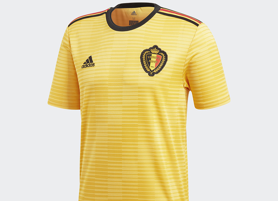 Belgium 2018 World Cup Adidas Away Kit