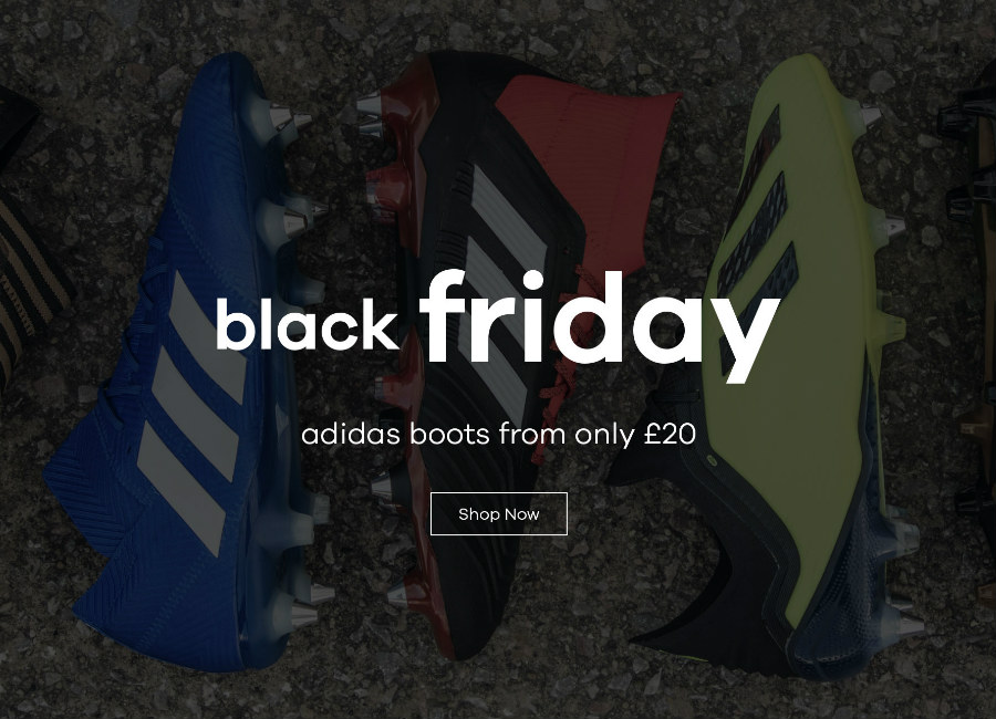 Black Friday - Adidas Boots From Only £20