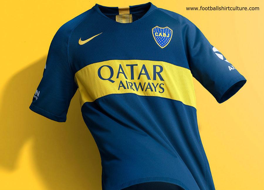 more photos 6350b c2e4f Boca Juniors 18/19 Nike Home Kit | 18/19 Kits | Football ...