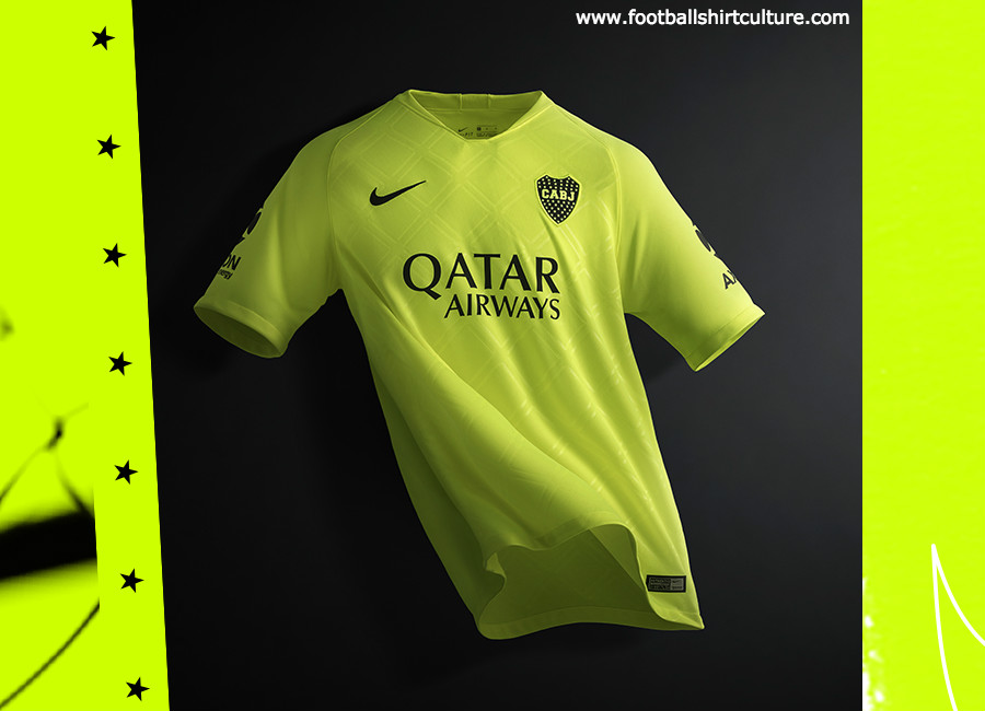 factory authentic 508a1 bb2bc Boca Juniors 2018-19 Nike Third Kit | 18/19 Kits | Football ...