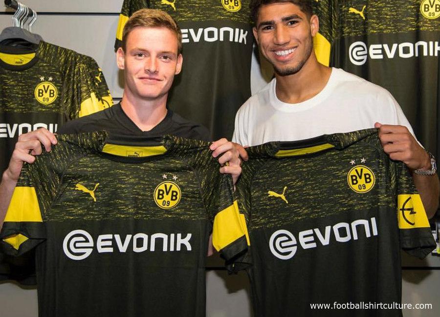 on sale ca90f c557a Borussia Dortmund 2018-19 Puma Away Kit | 18/19 Kits ...