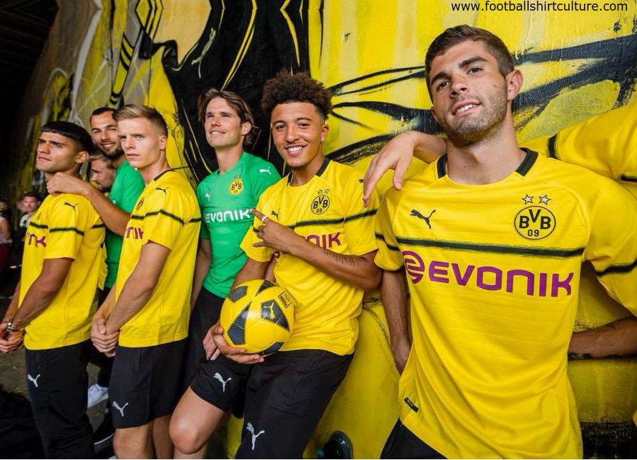 brand new 47c49 dd73a Borussia Dortmund 2018-19 Puma Tournament Kit | 18/19 Kits ...
