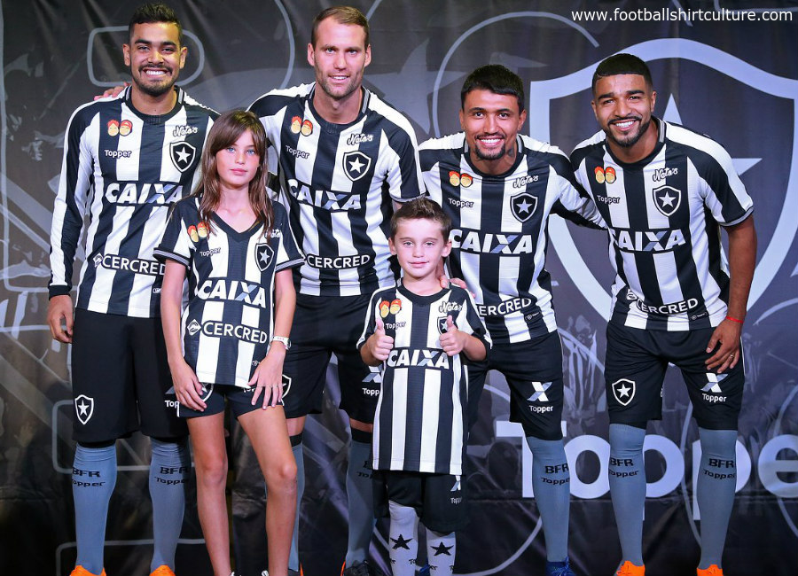 Botafogo 2018 Topper Home Kit