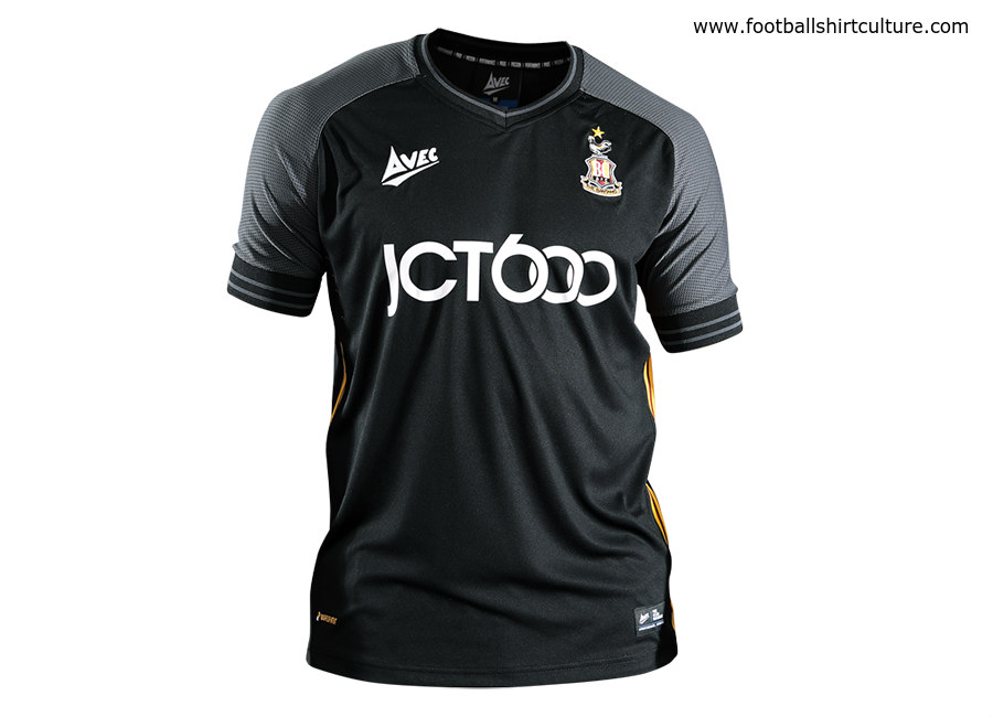 Bradford City 2018-19 Avec Sport Third Kit