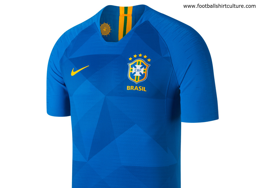 Brazil 2018 World Cup Nike Away Kit