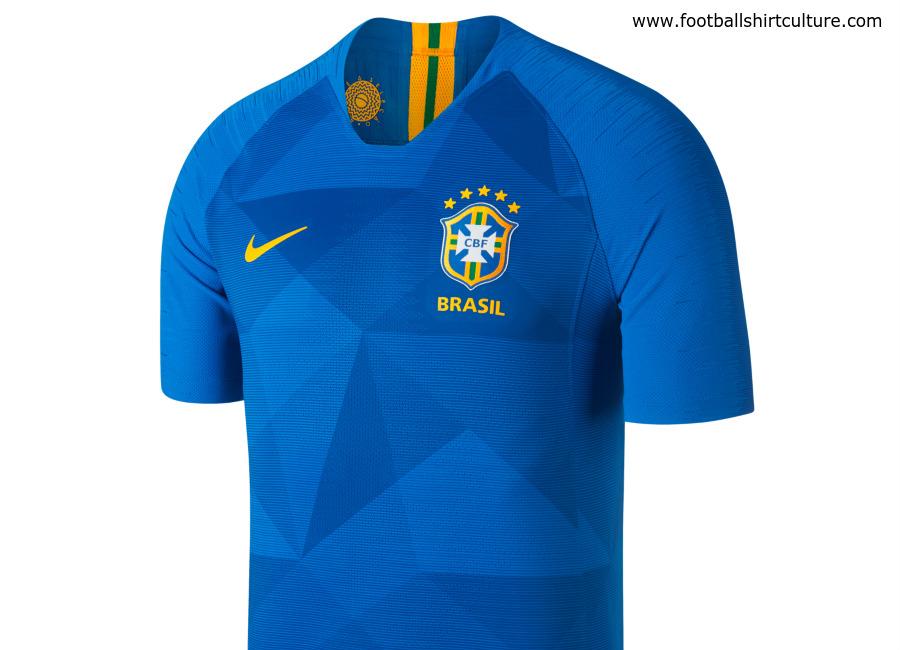 quality design 5a878 24c7a Brazil 2018 World Cup Nike Away Kit | 17/18 Kits | Football ...