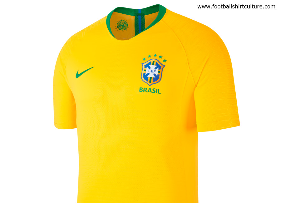 Brazil 2018 World Cup Nike Home Kit