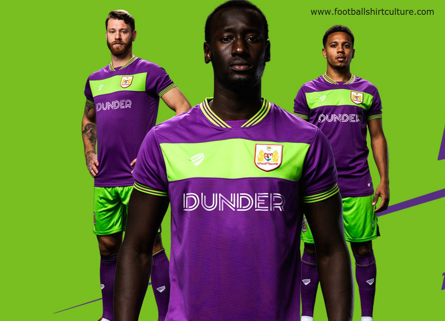 Bristol City 2018-19 Bristol Sport Third Kit