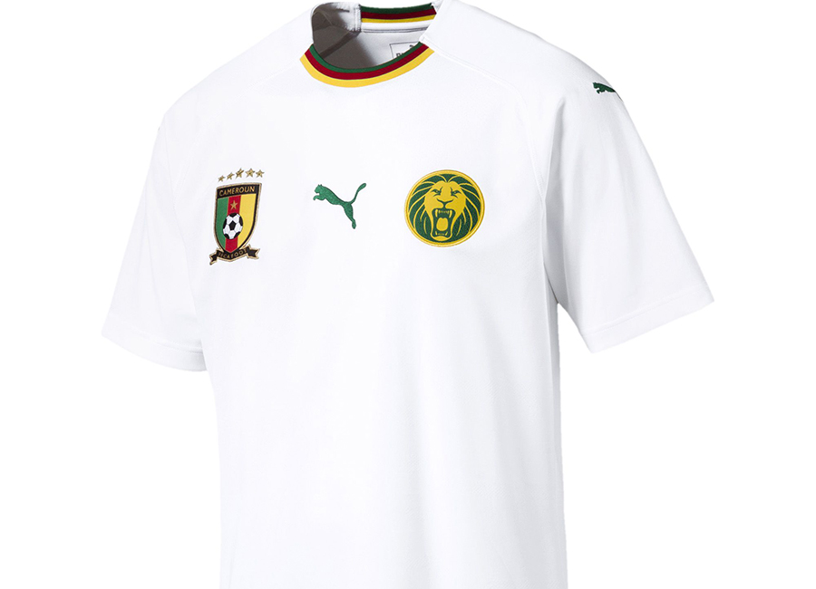 Cameroon 2018 Puma Away Kit
