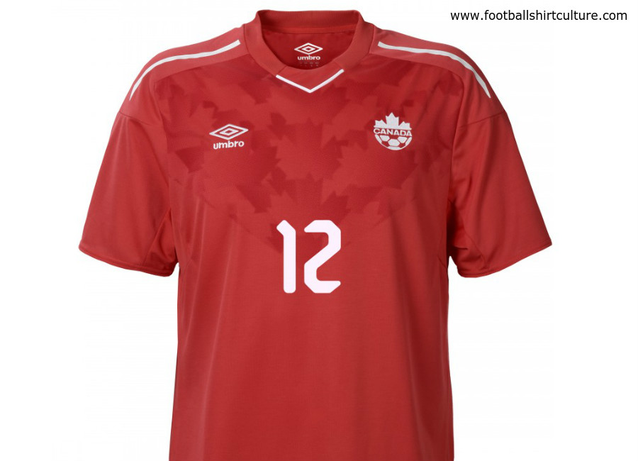 Canada 2018 Umbro Home Shirt