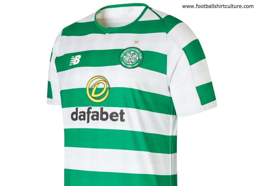 Celtic 18/19 New Balance Home Kit