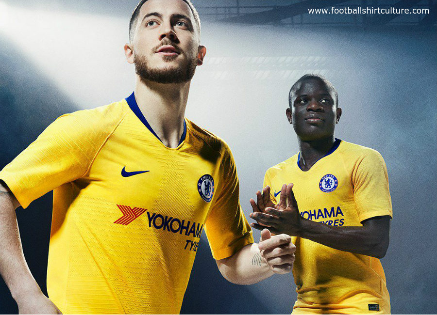 new product e20d8 0415c Chelsea 2018-19 Nike Away Kit | 18/19 Kits | Football shirt blog