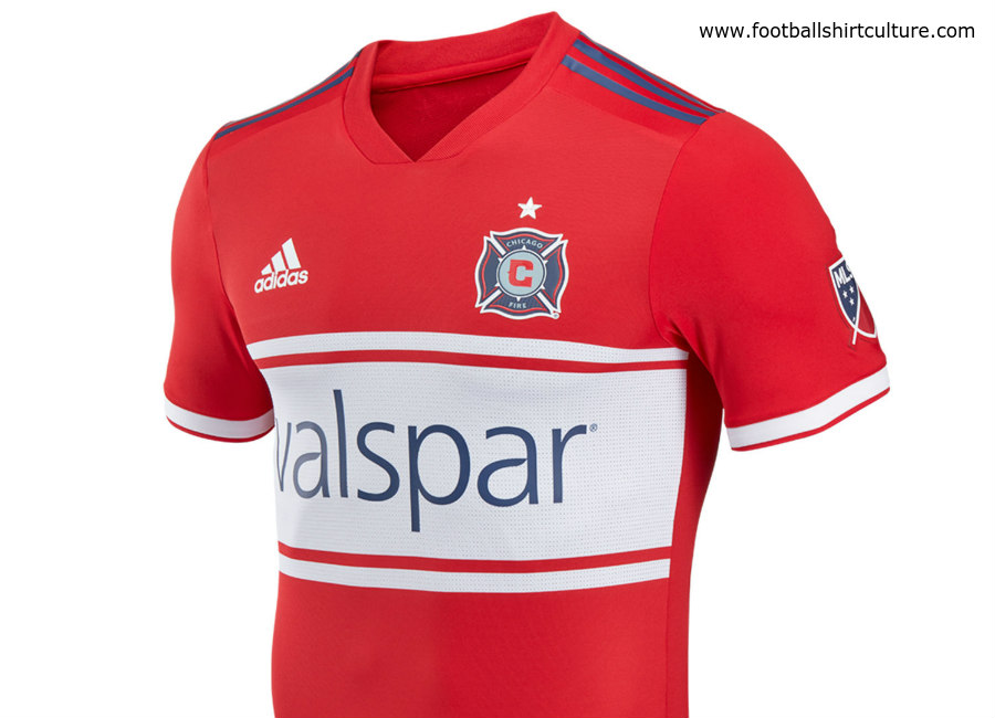 Chicago Fire 2018 Adidas Home Kit