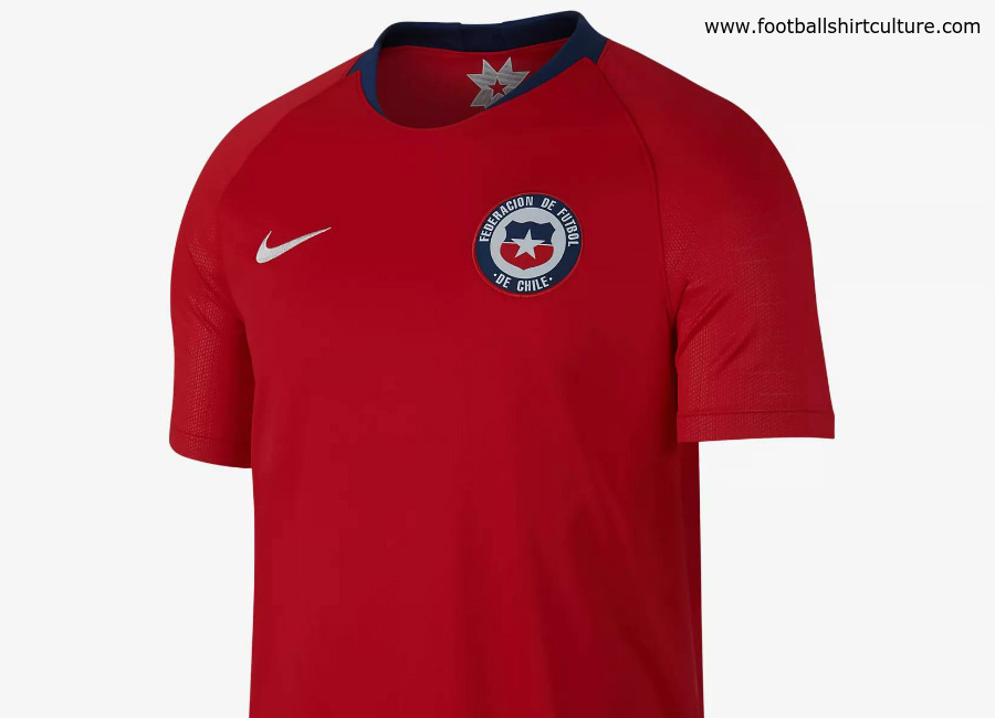 Chile 2018 Nike Home Kit