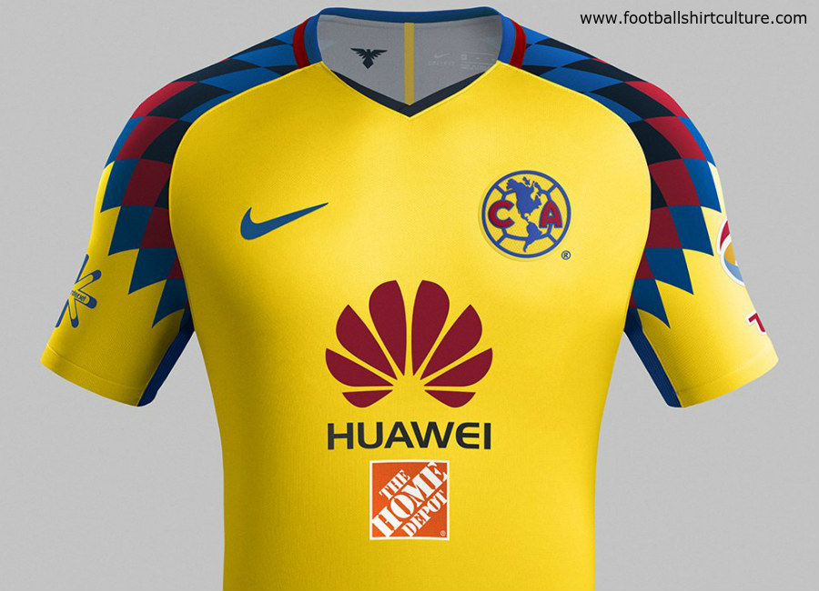Club América 2018 Nike Third Kit