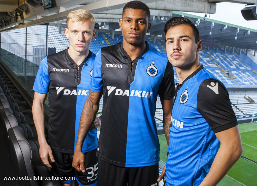Club Brugge 2017/18 Play Off Special Edition Home Shirt