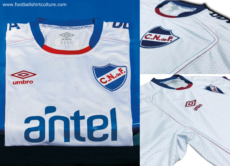 Club Nacional 2018 Umbro Home Kit