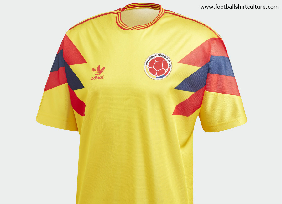 Colombia 1990 Originals Home Blog Retro Adidas Shirt Football Jersey Replica fefbbdffbfbaf|Breaking More Records In 2019