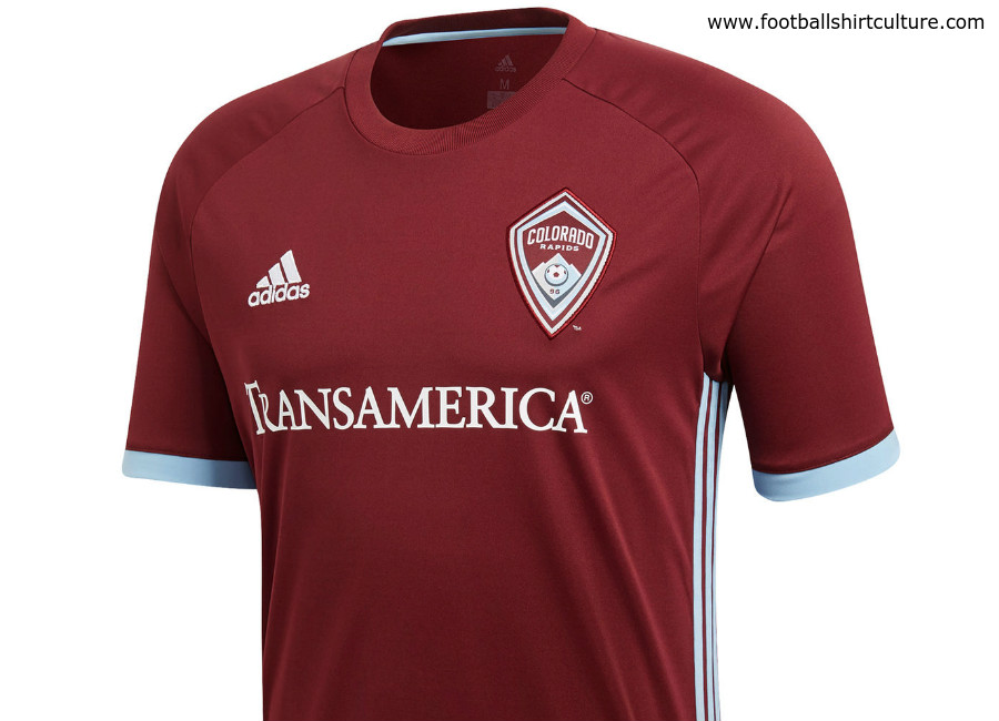 Colorado Rapids 2018 Adidas Home Kit
