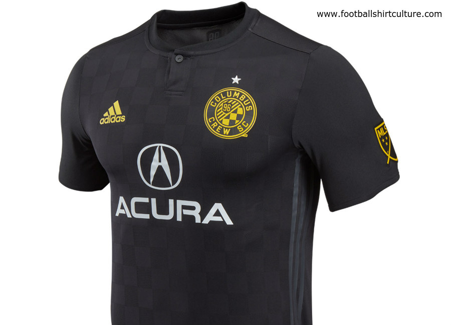 Columbus Crew 2018 Adidas Away Kit